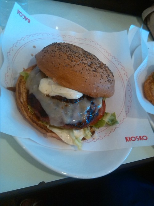 Hamburguesa del Kiosko