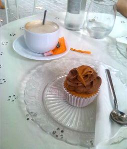 Muffin de dulce de leche en Gaudi Bakery